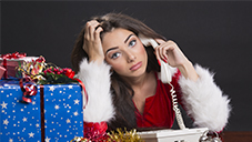 Holiday blues for infertile women