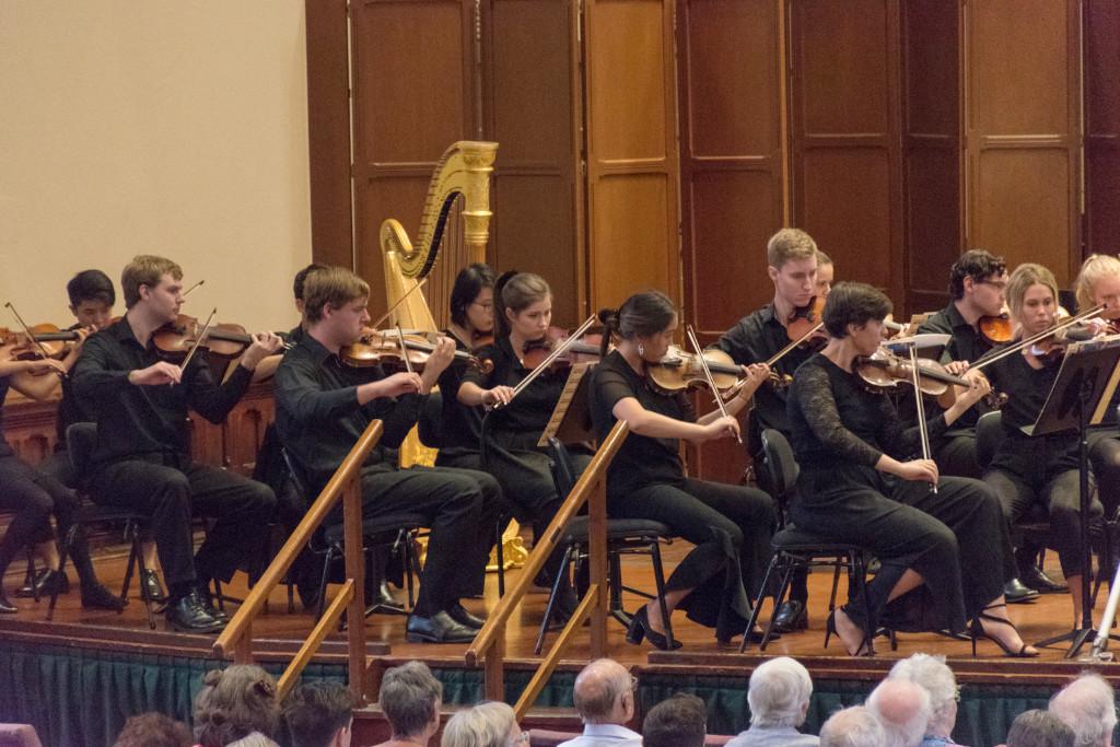 ECSO Violin Section