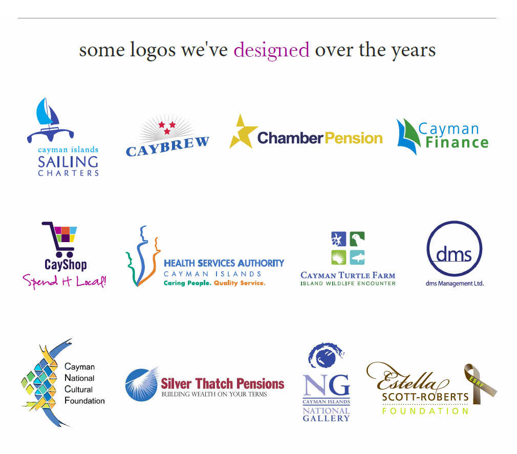 Logos We've Designed