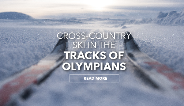 Cross-country ski in the tracks of Olympians