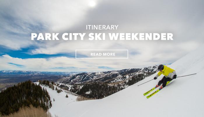 Itinerary: Park City Ski Weekender