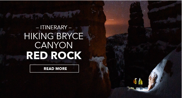 Itinerary: Hiking Bryce Canyon Red Rock