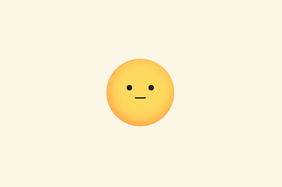 A happy face button