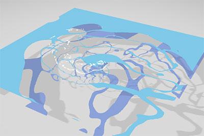 liquid canvas effect