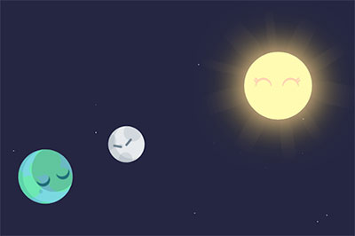 Cute, but unscientific eclipse