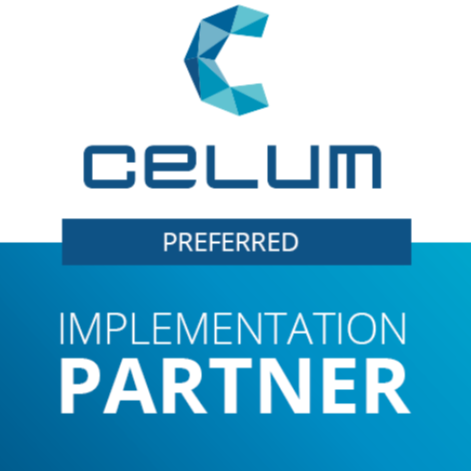 Logo CELUM Preferred Implementation Partner