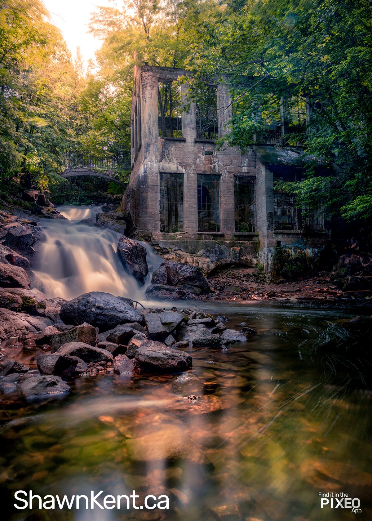 Gatineau Park Carbide Mill Photo Spot by Shawn M. Kent