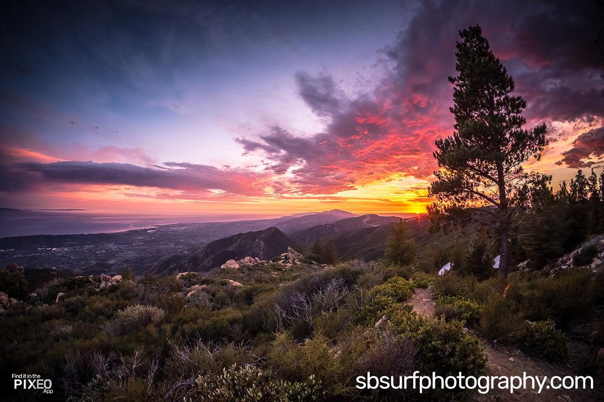 La Cumbre Peak Trail Photo Location by Doug Golupski