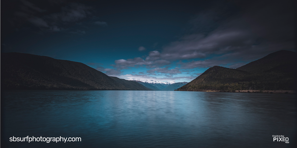 Lake Rotoroa in New Zealand by Doug Golupski