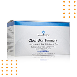 Save 15% OFF on VitaMedica® Clear Skin Formula Vitamins