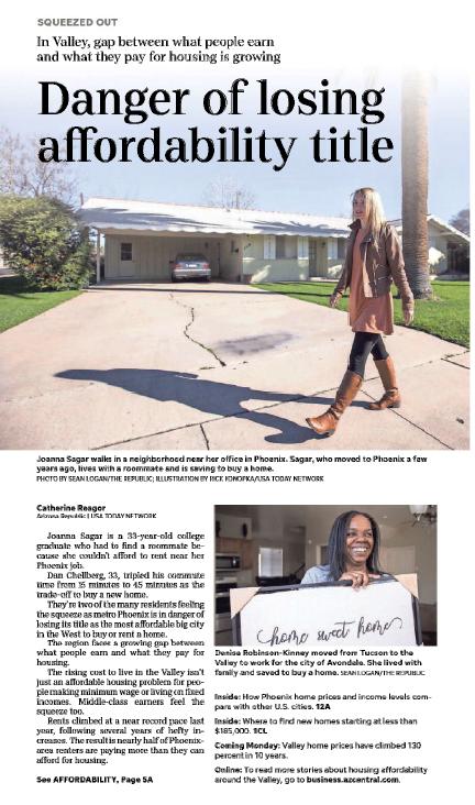 Arizona Republic: Danger of losing affordability title