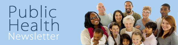 Public Health Newsletter Banner