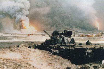 Chief Manchor's photo of Desert Storm