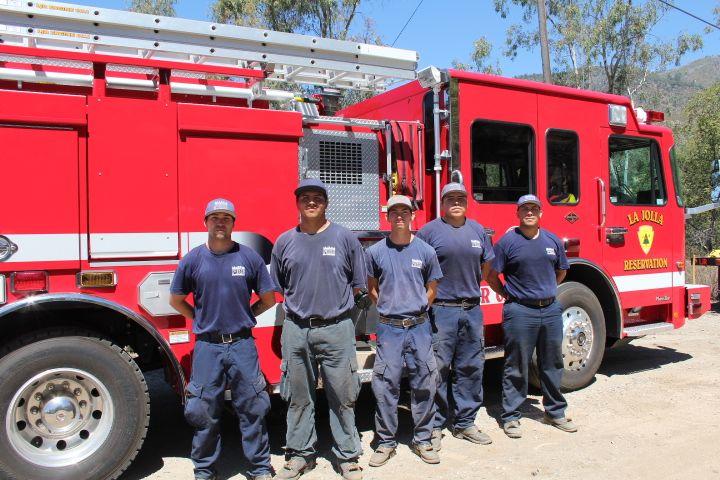 La Jolla Indian Reservation Volunteer Firefighters