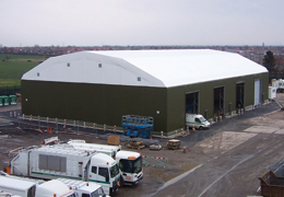 Crewe and Nantwich Borough Council waste recycling plant