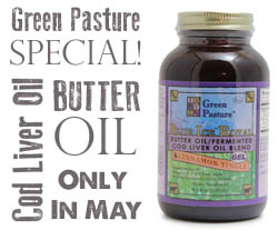 Cod Liver Oil & Butter Oil Special