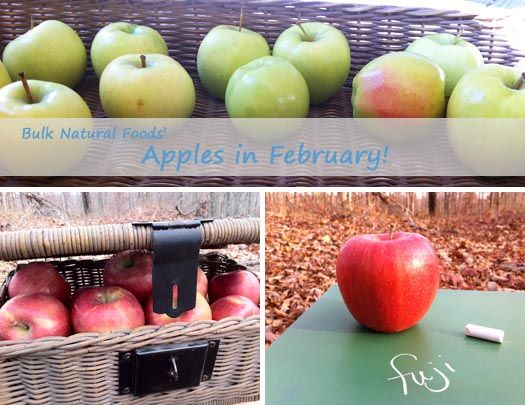 Bulk Natural Foods is offering apples in February!