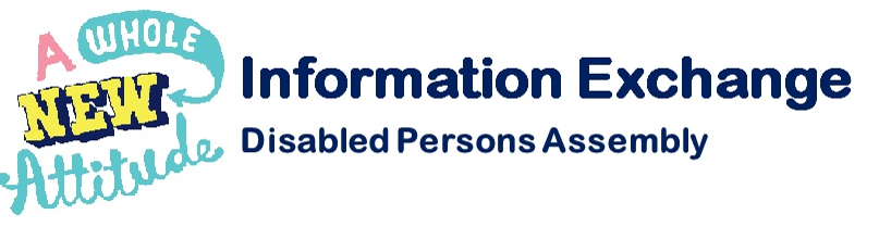 Image of DPA logo which reads A whole New Attitude next door to the words Information Exchange