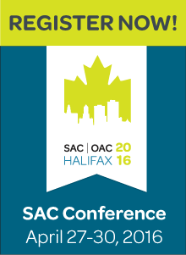 Register Now! SAC Conference: April 27-30, 2016