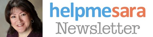 HelpMeSara Newsletter