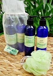 grapeseed shower set