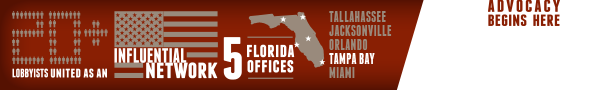 20+ lobbyists united as an influential network. 5 Florida offices.