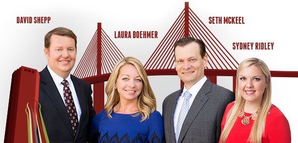David Shepp, Laura Boehmer, Seth McKeel, and Sydney Ridley - Southern Strategy Group of Tampa Bay