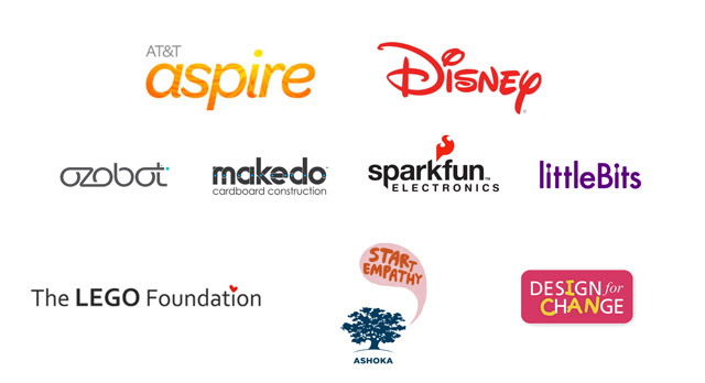 2015 Global Cardboard Challenge Partners and Sponsors