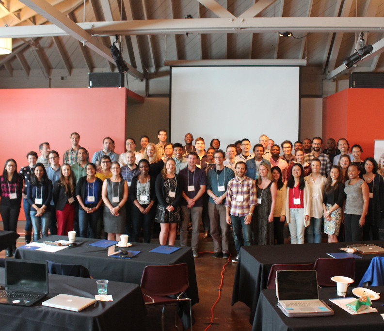 Faculty and Participants of the 2017 RT2 in Berkeley.