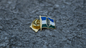 Cascadia Doug Flag Lapel Pin