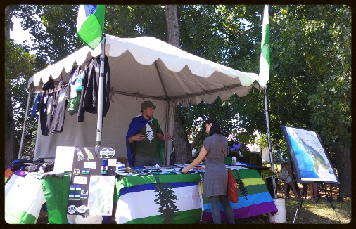 CascadiaNow! Booth