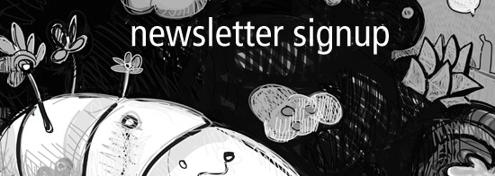 studio newsletter sign up
