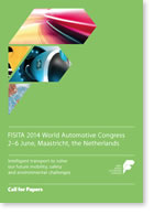 FISITA 2014 World Automotive Congress Call for Papers