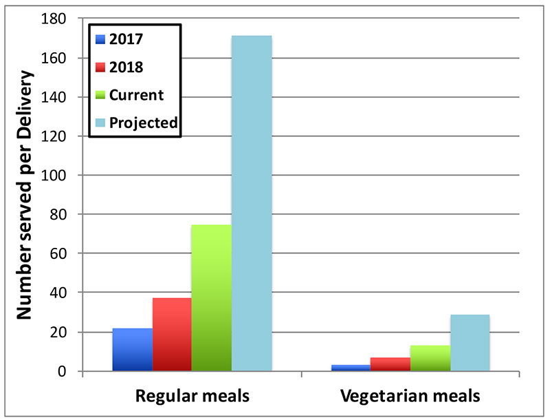 Regular vs. Vegetarian Meals