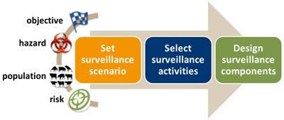Surveillance Design Framework Diagram