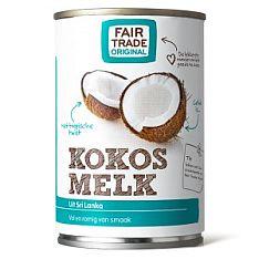 Fairtradové kokosové mléko