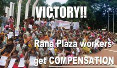 Rana Plaza odškodnění