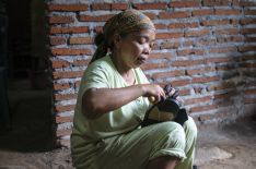 Domácí dělnice v Indonésii