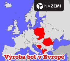 Výroba bot v Evropě