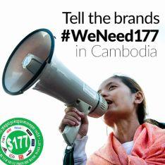 Kambodža protesty