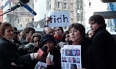 Protest FIDH