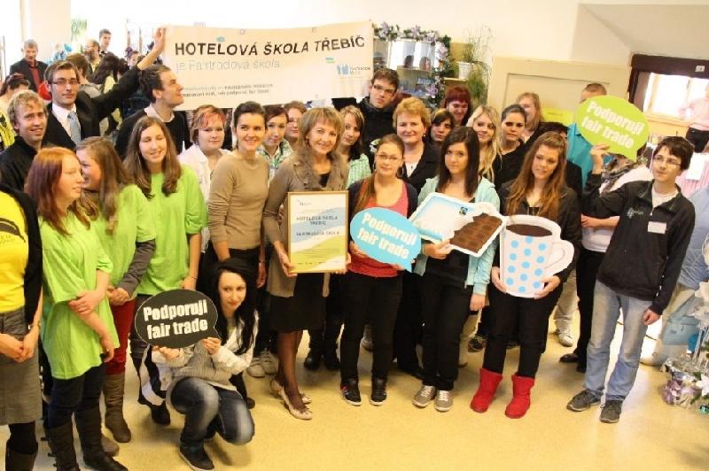 Žáci hotelové školy Třebíč