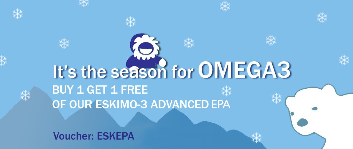 Buy 1 get 1 free on Eskimo Advanced EPA
