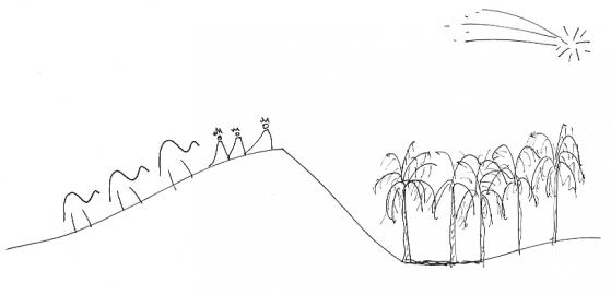 Travessa del desert - Reis d'Orient