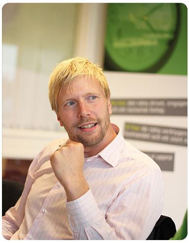 Tomas Liljenfors grundare av Bryne AB i Diö