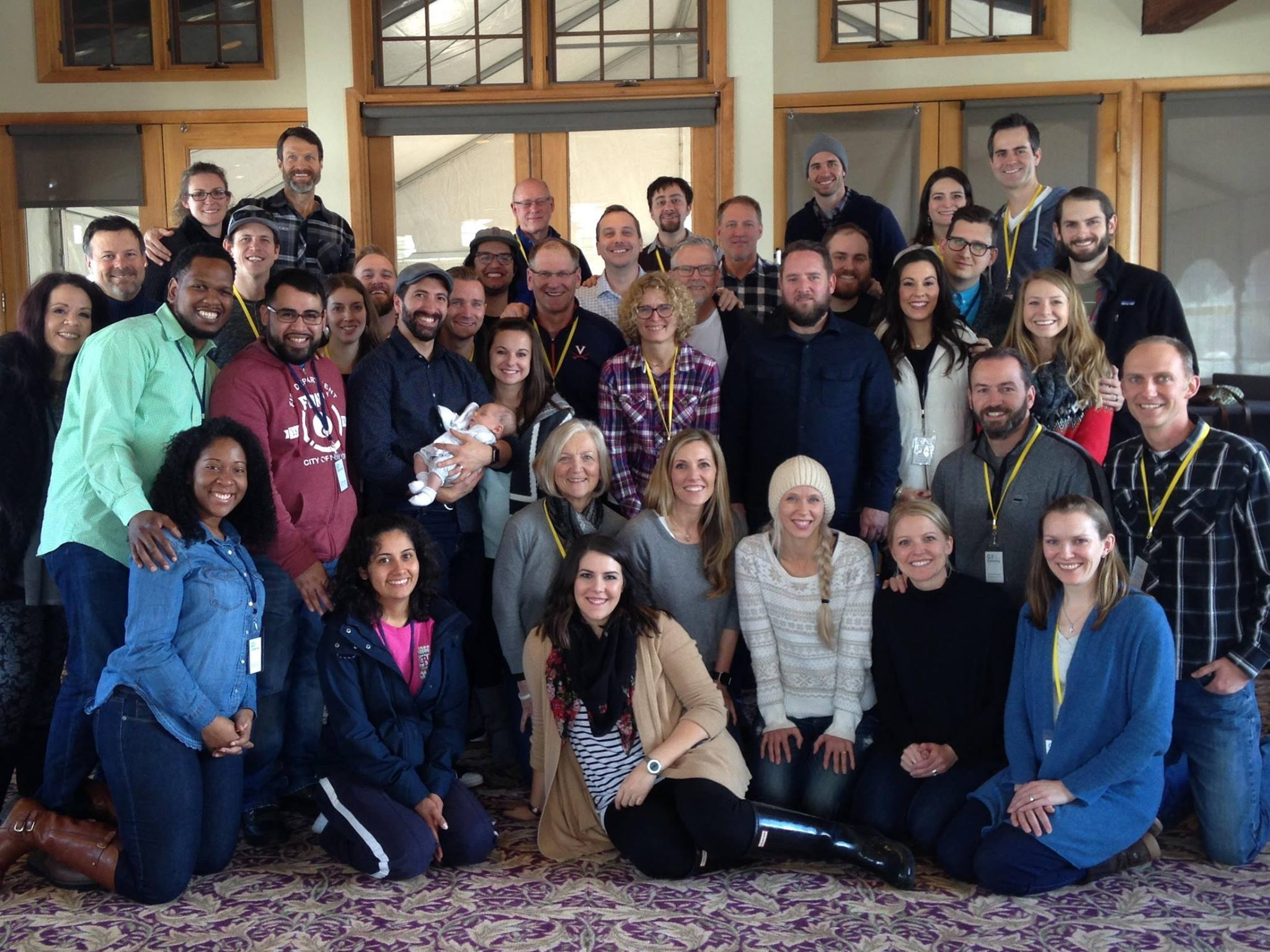 Crossroads Aspen, Crossroads Glenwood and Sandbox Houston leadership teams at the G3 Gathering