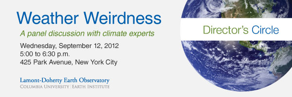 Weather Weirdness: A panel discussion with climate experts
