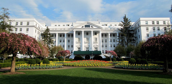 The Greenbrier Hotel in White Sulphur Springs, WV