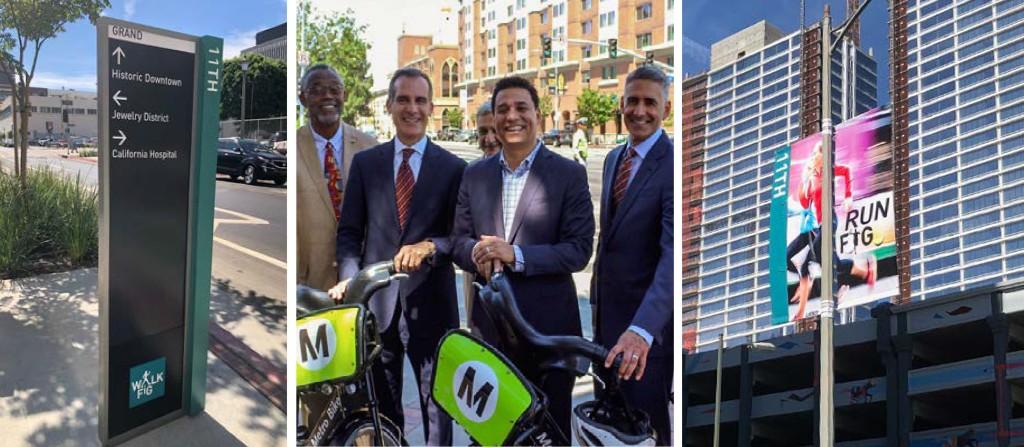 MyFig New Signage with Mayor Eric Garcetti