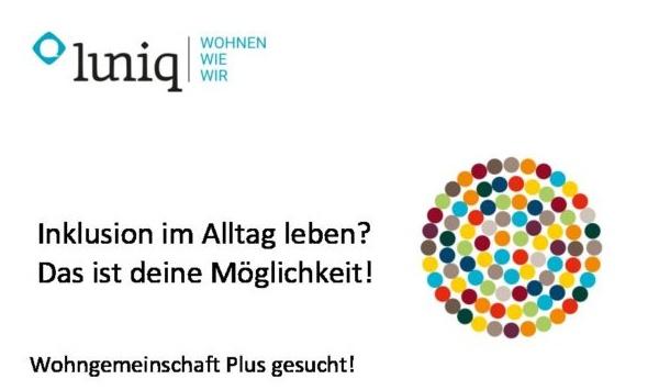 luniq.ch Wohngemeinschaft Plus Inserat